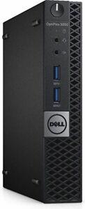 Dell Optiplex 5050MFF Intel Core I5-7500T@ 2.70GHz 16GB RAM 256 SSD. WiFi Win10