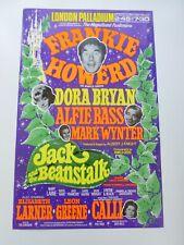 More details for frankie howerd dora bryan alfie bass london palladium pantomime poster 1973
