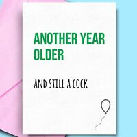Best Birthday Cards For Friend Son Mum Bestfriend Rude Adult Comedy Cheeky