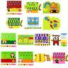 Children DIY Kindergarten Non-woven Montessori Teaching Aids Math Puzzle Toy ZSP