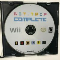 Bit Trip Complete Nintendo Wii Disc Only Tested