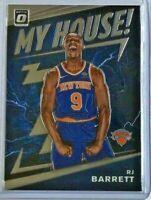 RJ Barrett rookie 'My House!' 2019-20 Donruss Optic 🏀 New York Knicks
