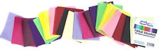 Tissue Paper Squares 75mm (3 Inch) 480 Sheets Assorted Colours