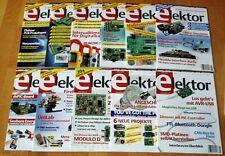 Elektor 2010 Zeitschrift Elektronik Jahrgang komplett 1-11 Hefte