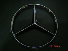WILL FIT MERCEDES  11.5 cm Emblem STAR LOGO BADGE Chrome ABS  NEW with Pins
