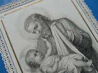 CANIVET DENTELLE HOLY CARD  PRIERE A SAINT JOSEPH   THFR