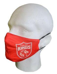 IPL 2021 Punjab Kings Face Mask T20, Cricket, India Kings XI, 11, Face Cover