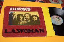DOORS LP LA WOMAN 1°ST ORIG YUGOSLAVIA 1974 EX GIMMIXCOVER TOP COLLECTOR INNER