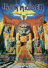 RARE IRON MAIDEN Powerslave Cloth Poster Wall Flag Fabric Tapestry Banner New!