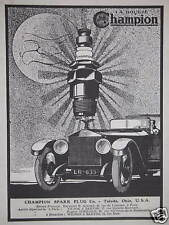 PUBLICITÉ LES BOUGIES CHAMPION SPARK PLUG Co TOLEDO OHIO USA
