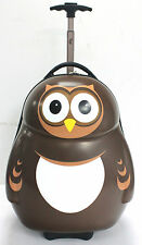 Pipi the Owl Cuties and Pals Hard Shell Travel Case, Kids Fun Luggage. 26.5 L