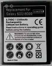 Battery 2300mah For Samsung Galaxy S3 Battery i9300  S 3 S III AU New