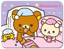 Rilakkuma Bed Time Mouse Mat Japanese Animation Kawaii Cute Relax Bear Mouse pad