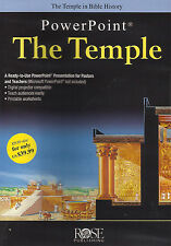 THE TEMPLE POWERPOINT by Rose Publishing - CD for Windows and Macintosh **NEW**