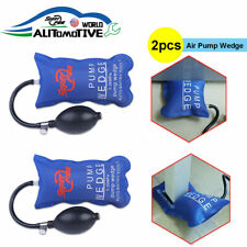 2pcs Air Pump Wedge Automotive Hand Tools PDR Dent Removal Paintless Repair Kits