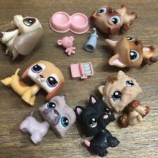 Littlest Pet Shop Bulk Pets Dogs Cat Accessories LPS Toys