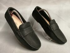 Clarks Cushion Plus Women's Black Leather Slip On Loafers Shoes Size UK 5 EU 38