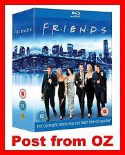 Friends: Complete Season 1-10 Blu-ray Box Set -New- Bluray Series not DVD Boxset
