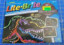 Lite Brite Jurassic Park III Picture Refill Pages Hasbro 2001-Sealed Package New