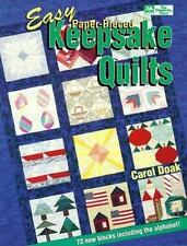 Easy Paper-Pieced Keepsake Quilts