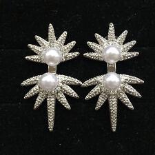 Rings` Ears Nails Big Ear Jacket Sun Pearl White Modern Fashion XX17