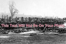 NT 16 - Railway Accident, Daybrook, Nottingham, Nottinghamshire c1908