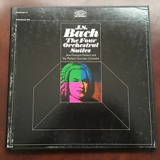 J.S. Bach Four Orchestral Suites, Paillard Chamber Orchestra, Epic Records