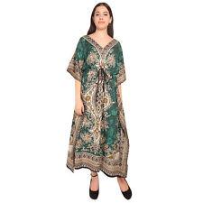 Gamla Print Hippie Boho New Women Caftan Kaftan Maxi Long Casual Dress