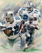 Emmitt Smith Dallas Cowboys UNSIGNED 8X10 Photo Collage
