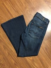 Womens Seven 7 For All Mankind Bell Bottom Jeans Size 27