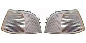 VOLVO S40 V40 95-98 Corner Lights Turn Signal Clear NEW