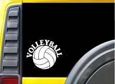 Volleyball *J746* 6 inch Sticker decal volley ball
