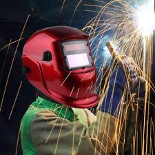 New listing Solar Powered Auto Darkening Welding Helmet Grinding Mig Tig Welder +2 Baffles