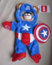 Build a Bear Marvel Unstuffed Captain America Full Size Plush Animal 1