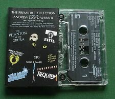 Andrew Lloyd Webber The Premiere Collection Paul Nicholas + Cassette Tape TESTED