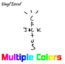 Cactus Jack Decal Sticker Travis Scott La Flame Logo