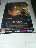 AFFICHE THE ISLAND 4x6 ft Bus Shelter Movie Poster Original 2005