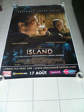 AFFICHE THE ISLAND 4x6 ft Bus Shelter D/S Movie Poster Original 2005
