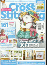 THE WORLD OF CROSS STITCHING,  ISSUE, 66  FREE GIFTS OR INSERTS ARE NOT INCLUDE.