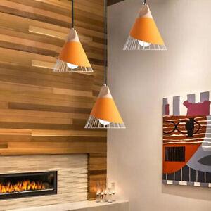 Dining Room Pendant Lighting Kitchen Chandelier Light Wood Bar Ceiling Lights