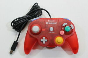 HORI Nintendo GameCube Controller Pad Clear Red GC Switch Wii Tight Stick GP024
