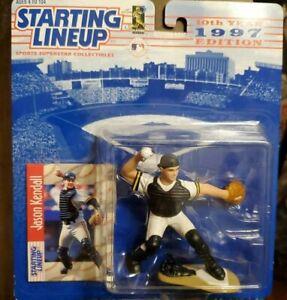 JASON KENDALL - PITTSBURGH PIRATES - Starting Lineup MLB SLU 1997 Figure & Card