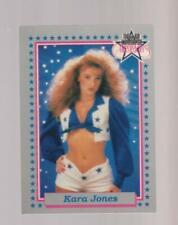 1992 Enor Dallas Cowboys Cheerleaders #22 Kara Jones card