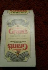 Grant's Collectable Beer & Spirits Playing Cards