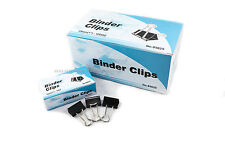 New 60 Pcs 25mm 1 Binder Clips Small Size Metal Paper Binding Office 5 Doz