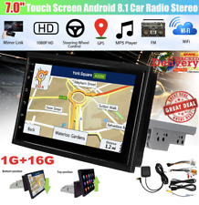 """7"""" 1 Din for Android 8.1 Car Stereo Radio Multimedia Player GPS Wifi Bluetooth"""