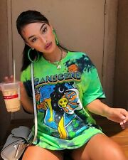 NEW Fashion Women Cute Printed Crew Neck Short Sleeves Casual Club T-Shirt Tops