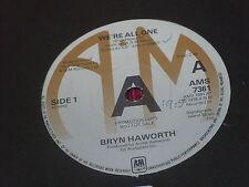"Bryn Haworth:  We're All One  7""  UK PROMO"
