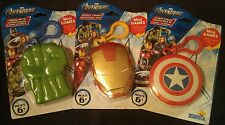 New Marvel Avengers Iron Man, Hulk, & Captain America Clip On Mini Card Games