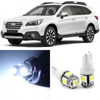 14 x Xenon White Interior LED Lights Package For 2010- 2019 Subaru Outback +TOOL